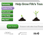 Fife Tourism Partnership by IT-Serve web design Fife