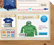 Sharky and George Clothing by IT-Serve web design Fife